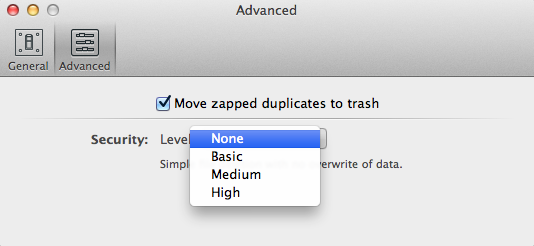 Duplicate approval notice